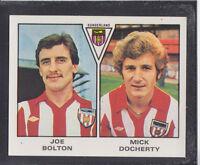 Panini - Football 80 - # 490 Bolton / Docherty - Sunderland