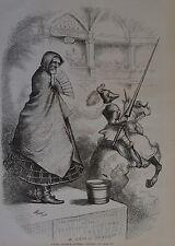 "Thomas Nast. Injured Innocence - Southern ""Chivalry"". Harper's Weekly, 1876."