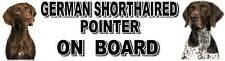 GERMAN SHORTHAIRED POINTER ON BOARD Sticker - Starprint