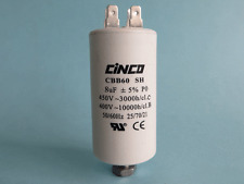REPLACEMENT FISHER & PAYKEL DRYER 8uf CBB60A START  CAPACITOR 440Volt  427502P