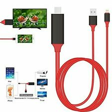 CAVO ADATTATORE VIDEO LIGHTNING USB HDMI HDTV TV PER IPAD IPHONE 5 6 7 8 X PLUS
