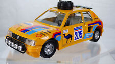 Vintage Collectible Burago Peugeot 205 Turbo 16 T16 1:25 Rally Dakar Toy Car