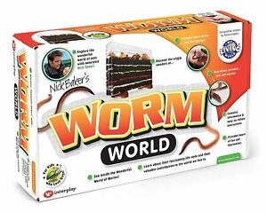 The Amazing EarthWorm World: Worm Farm Educational Science Toy My Living World