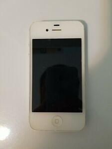 Apple iPhone 4s - 8GB - White (Cricket Wireless) A1387 (CDMA + GSM)