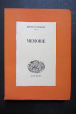 MEMORIE  Madame De Remusat  I edizione  1942  Giulio Einaudi   Saggi 36