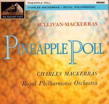 Sullivan (vinilo Lp) Piña Poll-Charles Mackerras-HMV-CSD 1399-UK-1962-en muy buena condición+/ex