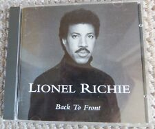 LIONEL RICHIE Back To Front CD 1992 - MOTOWN