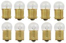 10x 63 Light Bulb Miniature Incandescent Bright Auto Car RV Camper Lamps BA15S