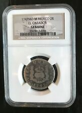 El Cazador Shipwreck Treasure NGC coin Pirate Piece of Eight Pillar Authentic 2R