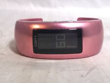 Philippe Starck Womens Watch PH1118 Digital Pink Aluminum Bracelet By Fossil