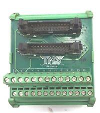 Phoenix Contact TMS Terminal Block IDC-26 2x13pins 2.0mm Dual Male Header PCB