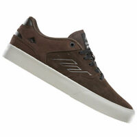 EMERICA 'REYNOLDS LOW VULC' Pro Skateboard Shoes, Brown Suede