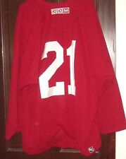 PHOENIX COYOTES worn Andy Miele #21 red practice jersey 2011-13 training camps