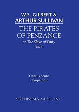 Sullivan: The Pirates of Penzance: Chorus score