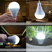 5W 7W 9W 12W Energy Saving-LED Globe Light Bulb Lamp E27 White Rechargeable
