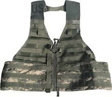 TACTICAL VEST NEW MILITARY ACU Digital  CAMO FLC Molle Carrier LOAD BEARING