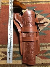 Fits Remington 1858 Colt 1860 Army 1851 1861 Navy Western Leather Holster Floral