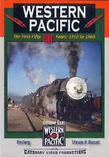 Western Pacific The First 50 Years 1910 to 1960 DVD Volume 1 Catenary Video