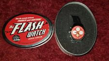 The Flash Watch Wristwatch DC Direct Wally West Barry Allen Metal Tin 1999 New