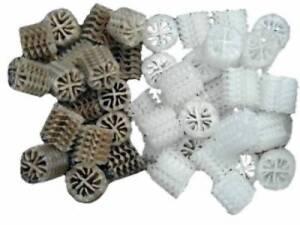 10 Liter Hel-X 17 KLL Biocarrier Helix Filtermaterial für Koi -Teich Filter