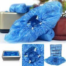 200 PCS PE Shoe Cover Machine Shoe Cover Disposable Convenient Covers Bags New