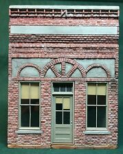 O/On30/On3 scale Rich White Models kit-The Bank-Hydrocal Walls Only-Super Detail