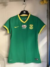 South Africa National Team Football Away Shirt 2015 Nike Dri-fit Green Size M