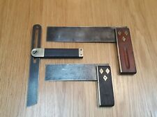 Job Lot Vintage Tools Marples Square + Bevel All Nice Brass vintage Woodworking