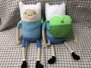 "Adventure Time Finn The Human 14"" Plush Doll The Adventurous w/ Backpack"