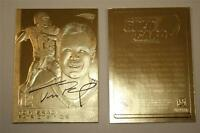 TOM BRADY 2005 Sculptured Gold Card Limited Edition NM-MT - New England Patriots