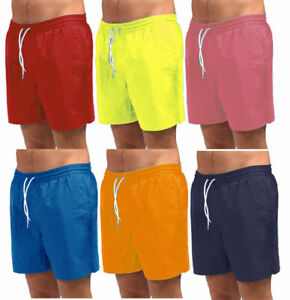 Mens Swimming Board Shorts Swim Shorts Trunks Swimwear Summer Holiday Beach