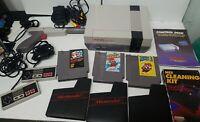 Nintendo NES Console with Super Mario Bros 1 2 3 Game Bundle New 72 Pin + manual