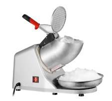 New Listingzenstyle Electric Ice Shaver Withstainless Steel Blade Ice Snow Cone Maker Machine