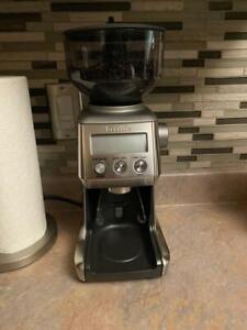 Breville Electric Coffee Grinder Smart Pro Model - Silver