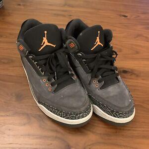 "Air Jordan 3 Retro ""FEAR PACK"" 2013 - Size 9.5 - 626967 040 (27-79)"