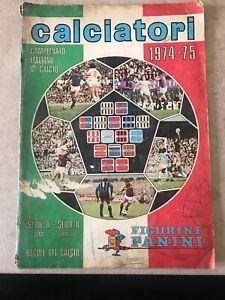 Album Calciatori Panini 1974/75 ORIGINALE