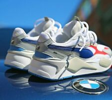 AUTHENTIC Puma RS-X3 BMW Motorsports White Blue Red Grey Running Shoes Men size