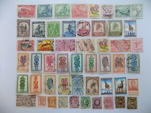 Belgian collection of used -mint comm. stamps off paper-5-8-G-We combine ship