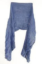 Bleu/Or Paillettes Infusé Déclaration Foulard or avec Tassel Design (MS41PT5)