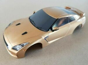 Scalextric C3174 1:32 scale body - Nissan GT-R gold