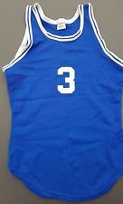 Vintage Basketball #3 Jersey Rawlings Hip-Hop Rap Sleeveless Unisex Made in Usa
