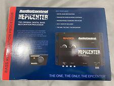 New Audio Control Epicenter Concert Series Digital Bass Reconstruction Processor