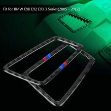 Right Carbon Fiber Vent Air Interior Cover Frame Trim for BMW E90 E92 E93 3Serie