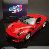BBR 1:18  Scale Ferrari F12TDF F12 Red Diecast Model Car Model Collection +Gift