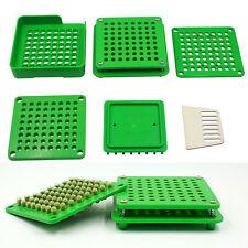 6Pcs/Set 100 Holes Capsule Filler Capsule Filling Machine Flate Tool Food Grade