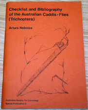 Checklist & Bibliography Of The Australian Caddis Flies (Trichoptera) A. Neboiss