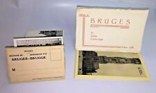 More details for 1930's/40's bruges b&w souvenir postcard booklets x2 with 10 cards in each
