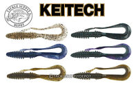 KEITECH Mad Mag Worm Ribbontail 7in 6pk JDM - Pick