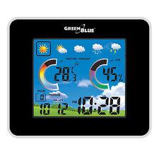 GreenBleu GB145 Station météorologique sans fil avec capteur externe  éclairage