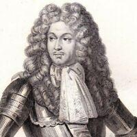 Portrait XIXe François D'Aubusson Duc De La Feuillade Maréchal sous Louis XIV